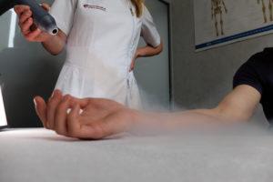 krioterapia miejscowa wrocław